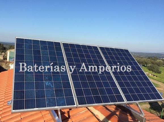 Conectar placa solar serie o paralelo for Baterias placas solares